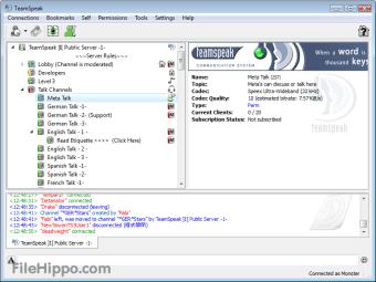 TeamSpeak Client 32-bit