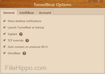 Télécharger TunnelBear 3 7 12 0 pour Windows - Filehippo com