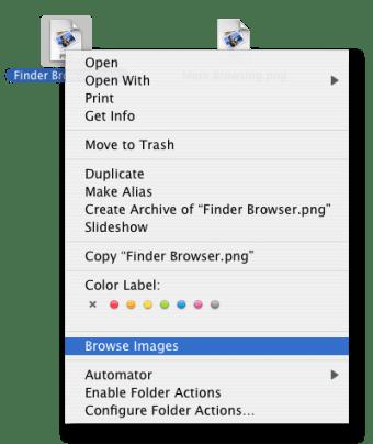 Finder Browser