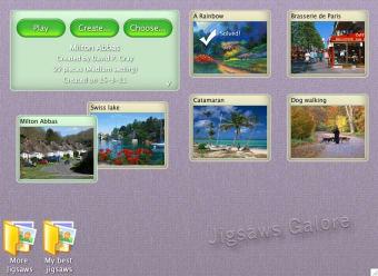 Jigsaws Galore Free Edition
