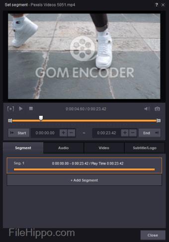 GOM Encoder 32-bit