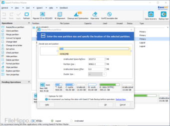 easeus disk copy iso file