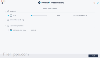 Recoverit Photo Recovery for Mac