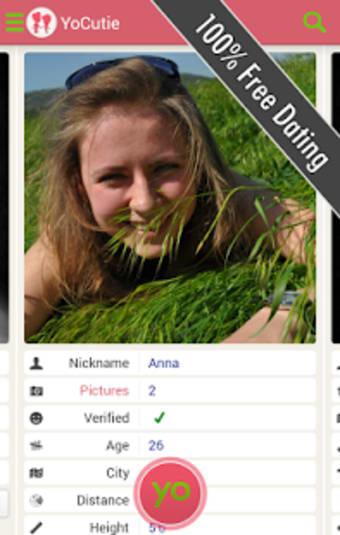 YoCutie - 100 Free Dating App