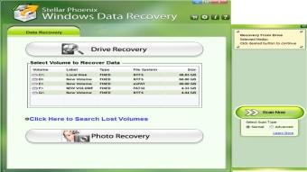 Stellar Phoenix Windows Data Recovery-Free edition