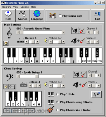 Download Electronic Piano 2 6 for Windows - Filehippo com