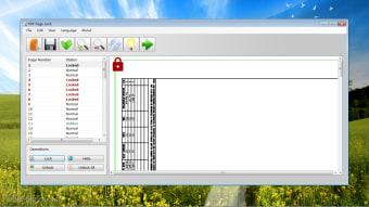PDF Page Lock