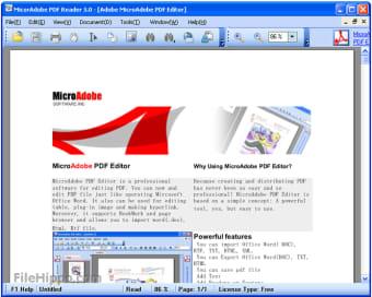 pdf reader download free filehippo