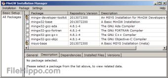 Download MinGW 0 6 2 Beta for Windows - Filehippo com