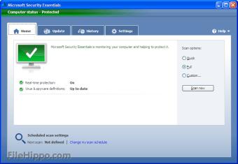 Microsoft Security Essentials Vista