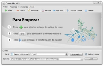 Convertidor MP3