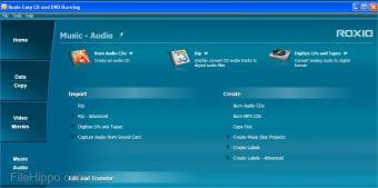 Roxio Easy CD & DVD Burning