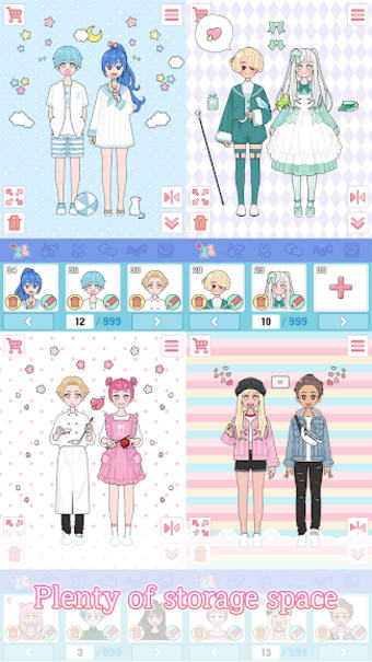Lily Diary: Dress Up Game