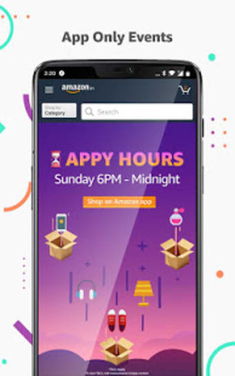 Amazon Shopping UPI Money Transfer Bill Payment