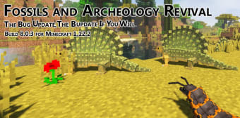 Fossils and Archeology Revival mod for Minecraft