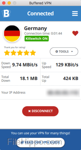 Buffered VPN for Mac