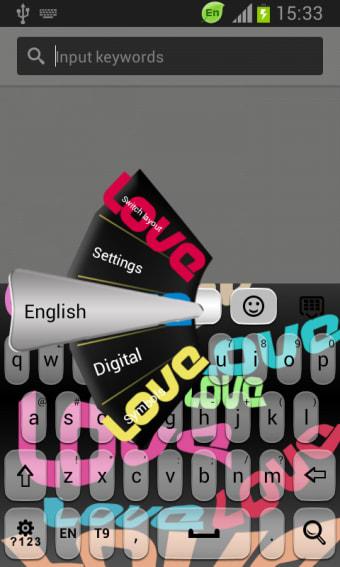 Keyboard Word Styles