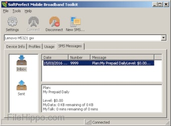 SoftPerfect Mobile Broadband Toolkit