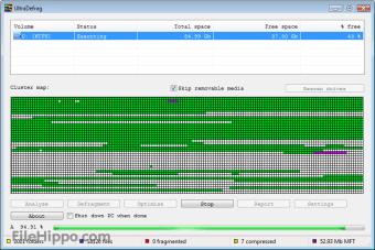 UltraDefrag 32-bit