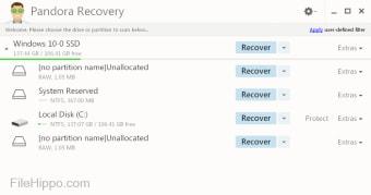 pandora recovery free download 64 bit