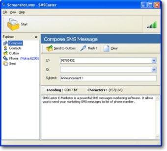 SMSCaster E-Marketer
