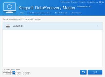Kingsoft Data Recovery Master