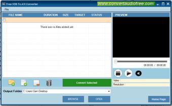 Free VOB to AVI Converter