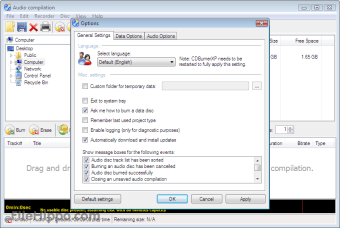 Descargar CDBurnerXP 4 5 8 6795 para Windows - Filehippo com
