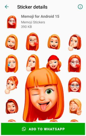 Stickers Memoji