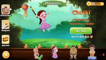 Chhota Bheem Race Game