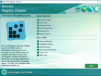 Black Bird Registry Cleaner