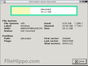 Descargar GParted 30 0 1 para Windows - Filehippo com