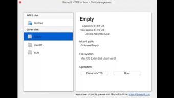 iBoysoft Microsoft NTFS