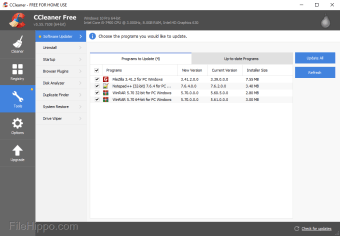 Download CCleaner 5 61 7392 for Windows - Filehippo com