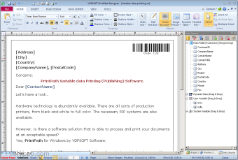 PaperPath Variable Data Publishing Software