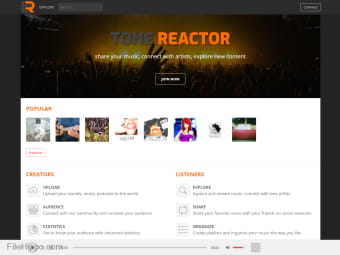 Tone Reactor - Sound sharing platform