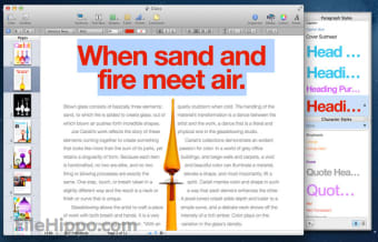 Download Pages 7 1 for Mac - Filehippo com