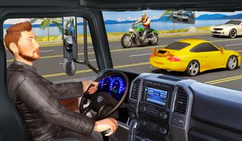 Traffic Highway Truck Racing  Truck Driving