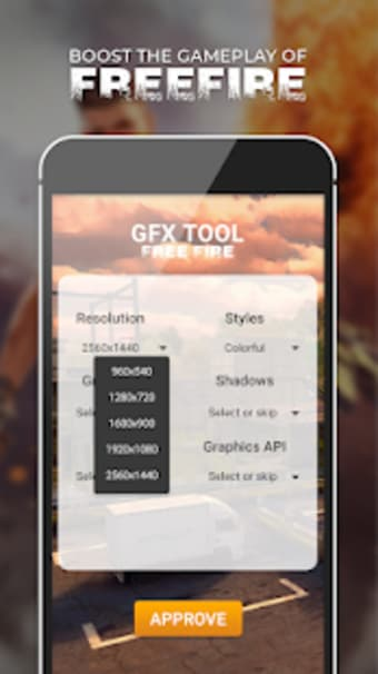 GFX Tool - Free Fire Booster