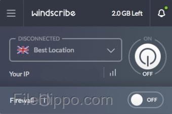 Windscribe VPN for Mac