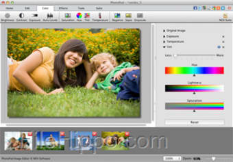 PhotoPad Image Editor for Mac