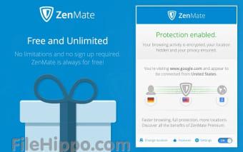 Download ZenMate VPN For Chrome 6 5 1 for Windows - Filehippo com