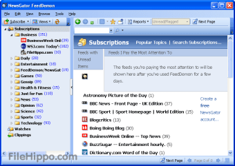 Download Feed Demon 4 5 0 0 for Windows - Filehippo com