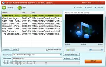 GiliSoft Audio Converter Ripper
