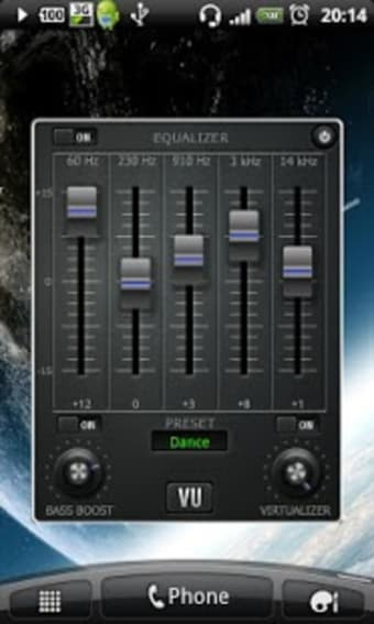 Music Volume EQ  Equalizer Bass Booster Amplifier