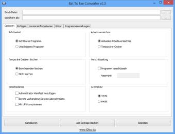 Bat To Exe Converter (64 Bit)