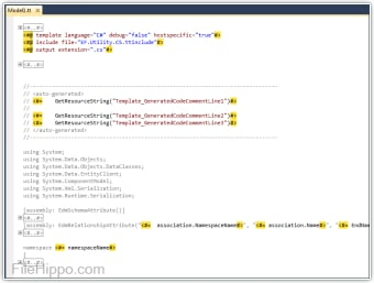 T4 Editor for Visual Studio 2008