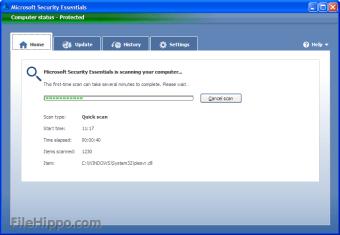 Microsoft Security Essentials XP