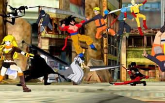 Anime All Stars Fighting