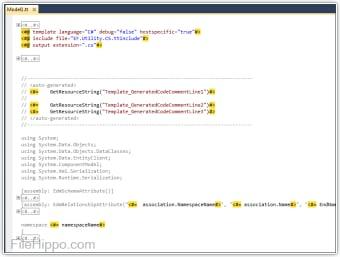 T4 Editor for Visual Studio 2013